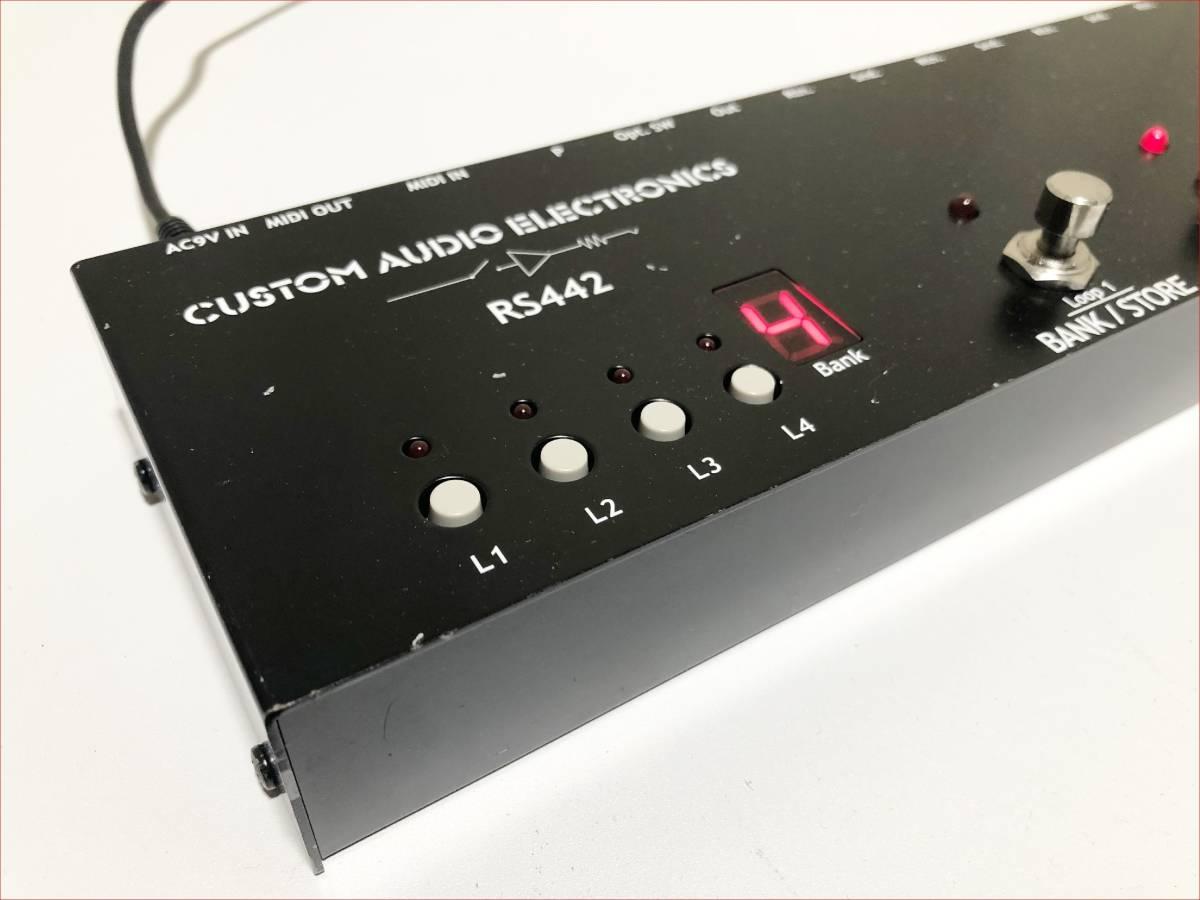CAJ RS442 正常動作品 プログラムスイッチャー_画像2