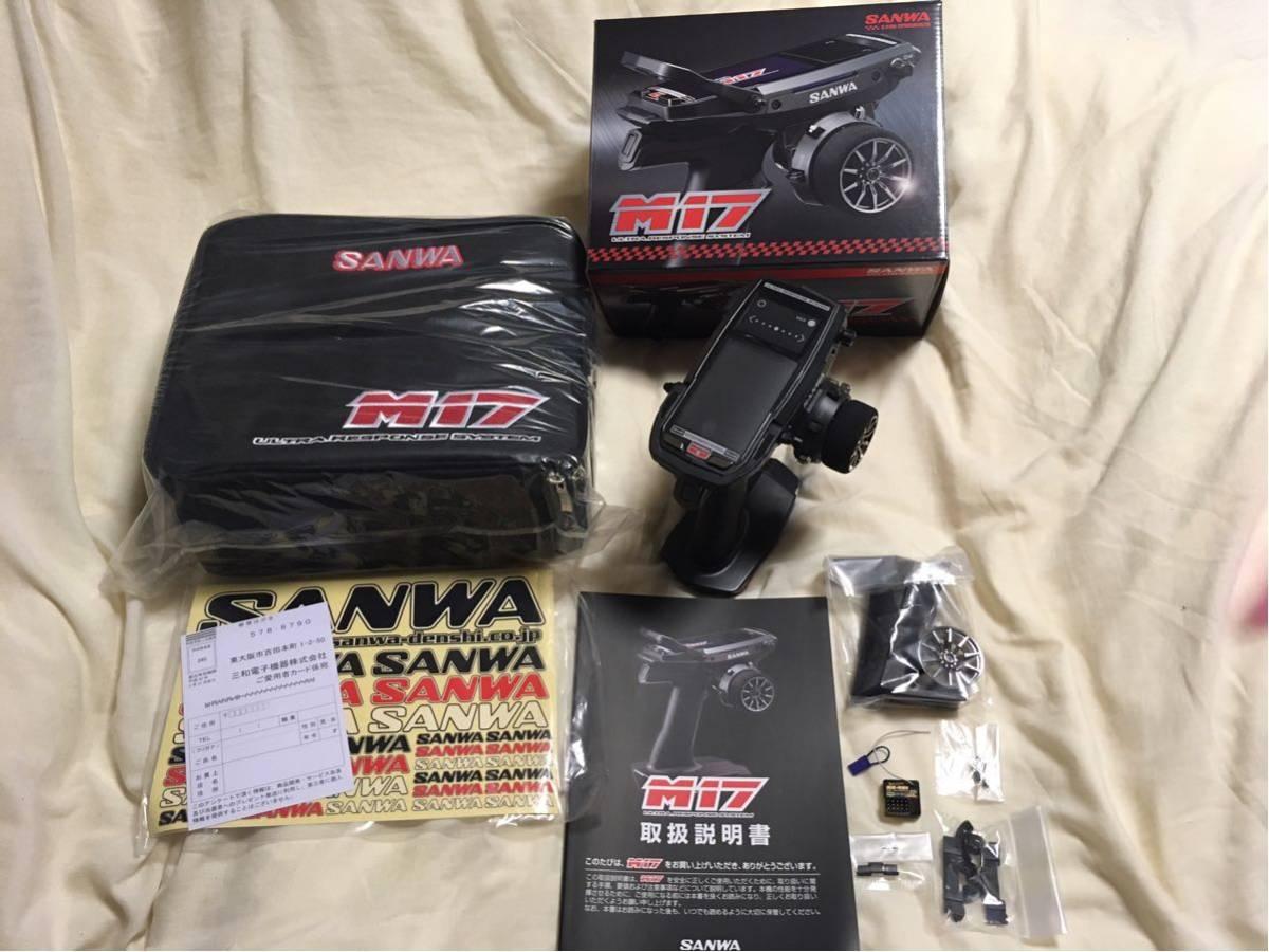 サンワ SANWA M 17 プロポ 超美品タミヤ京商ヨコモARCXRAY無限OSインフィニティカワダユルギックス