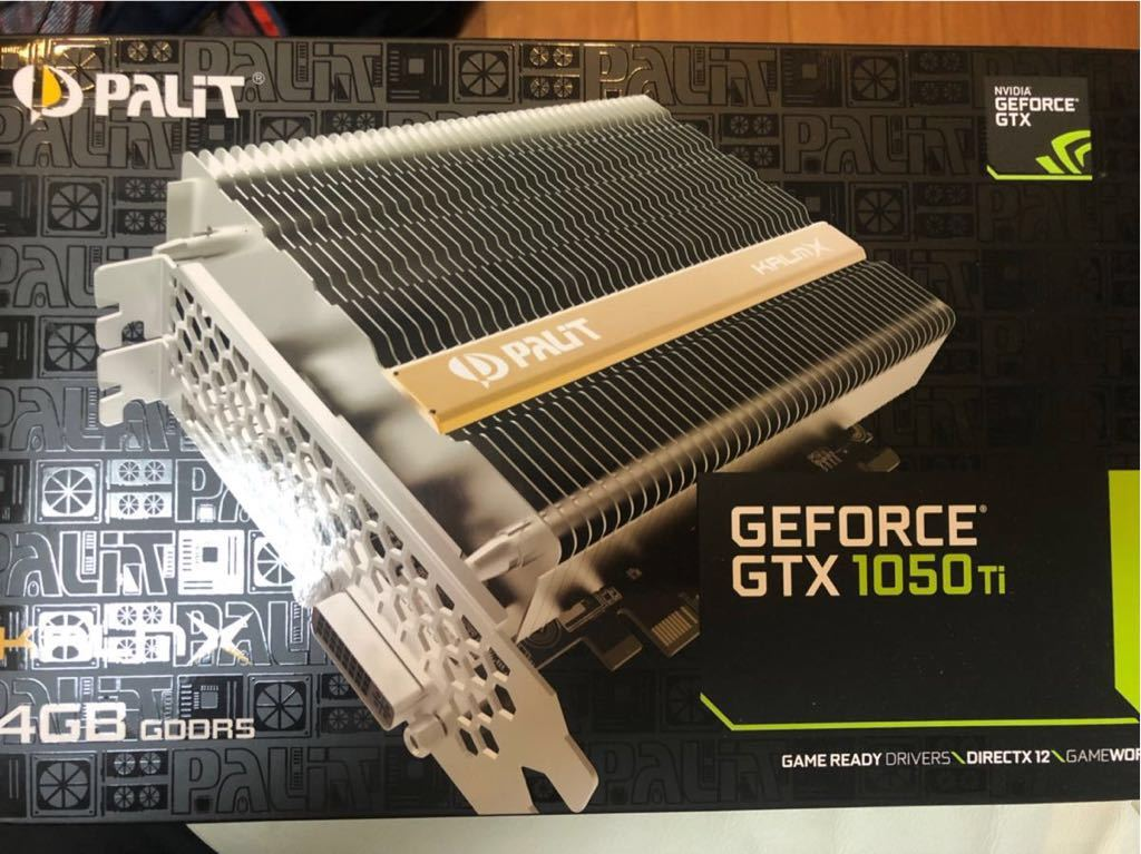 PALIT 製 KALMX Geforce GTX1050ti 4GB GDDR ファンレス