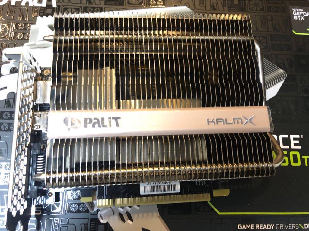 PALIT 製 KALMX Geforce GTX1050ti 4GB GDDR ファンレス_画像2