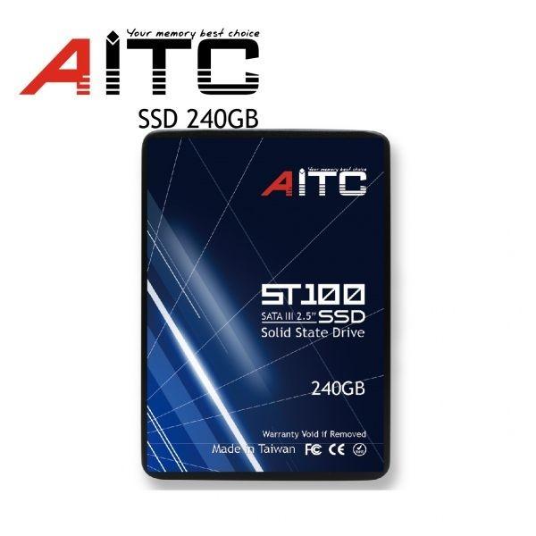 1円~![3年保証/正規品] 新品 大好評! AITC 内蔵 SSD 【240GB】 2.5インチ SATAⅢ 6G/bps MLC採用 Windows 10/Linux Kernel 2.6.31以降_画像3