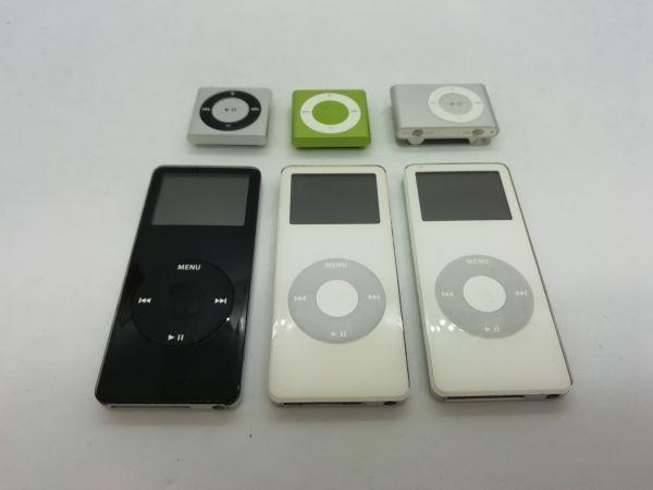 ジャンク 6台セット 送料無料あり ☆同梱可☆APPLE iPod 管理番号⑤A3699