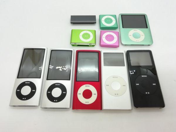 ジャンク 10台セット 送料無料あり ☆同梱可☆APPLE iPod 管理番号⑤A3696