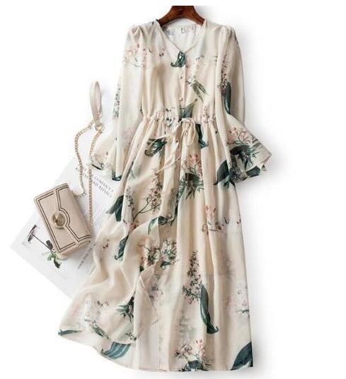 ♪特別な デザイン♪ シフォン 肌触り最高 快適 あなたは甘い夏を過ごしましょう シフォン ワンピースひざ丈スカートスカート