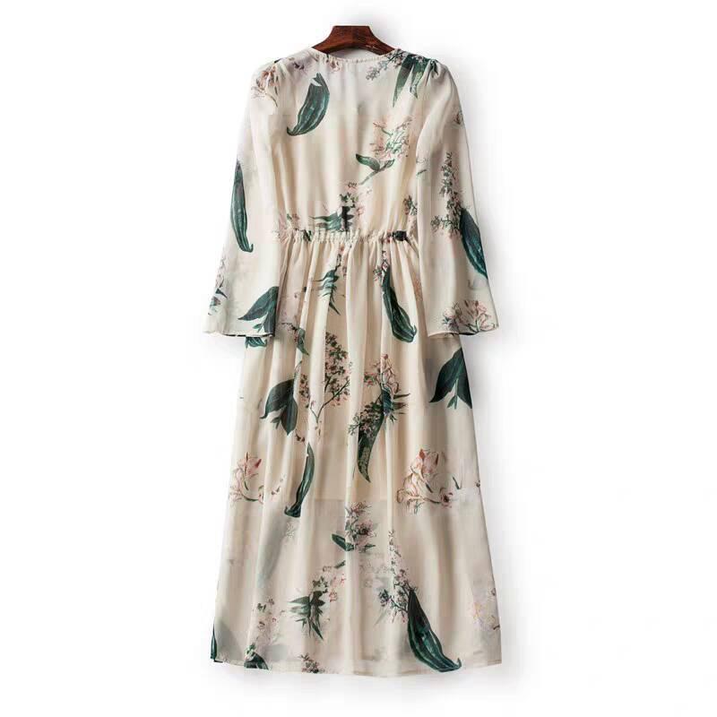 ♪特別な デザイン♪ シフォン 肌触り最高 快適 あなたは甘い夏を過ごしましょう シフォン ワンピースひざ丈スカートスカート _画像2