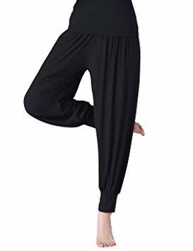【在庫処分SY2112】レディース ヨガパンツ リラックスパンツ サルエル風 ベリーダンス バレエ ダンスパンツ 体型カバ M_画像4