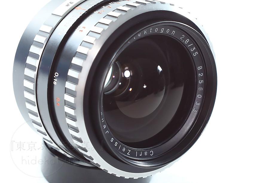 銘玉フレクトゴン 35mm ゼブラ【分解清掃済み・撮影チェック済み】Carl zeiss jena / Flektogon F2.8 35mm M42_66f_画像5