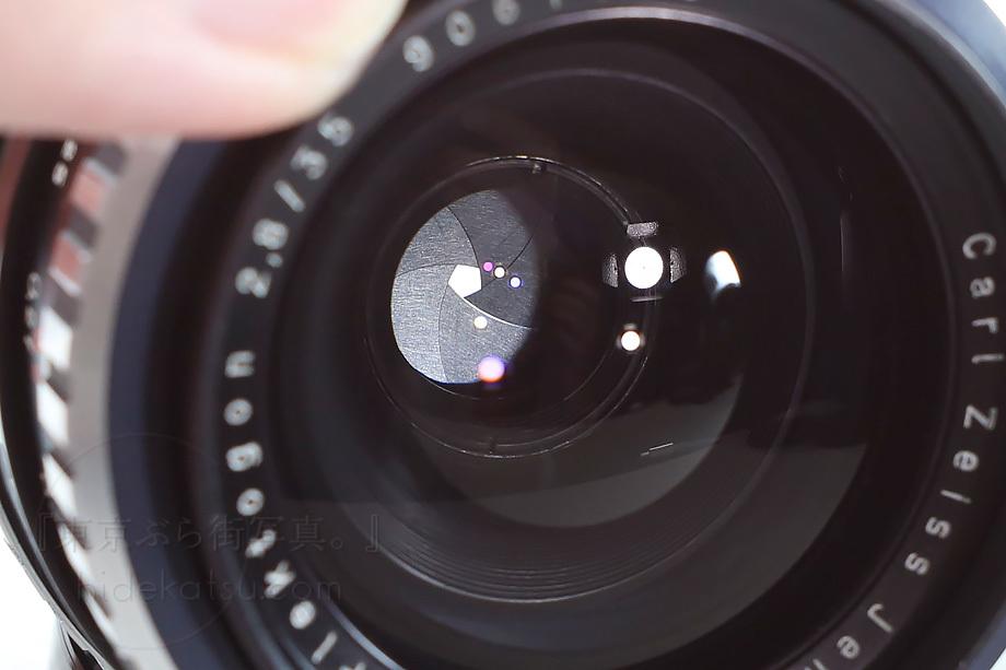美品)銘玉フレクトゴン 35mm ゼブラ 箱付き【分解清掃済み・撮影チェック済み】Carl zeiss jena / Flektogon F2.8 35mm M42_67f_画像7