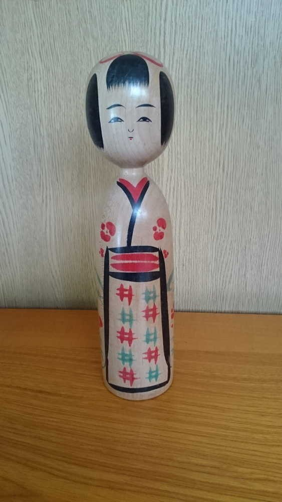 ◆伝統こけし 小野寺正徳13 24cm◆