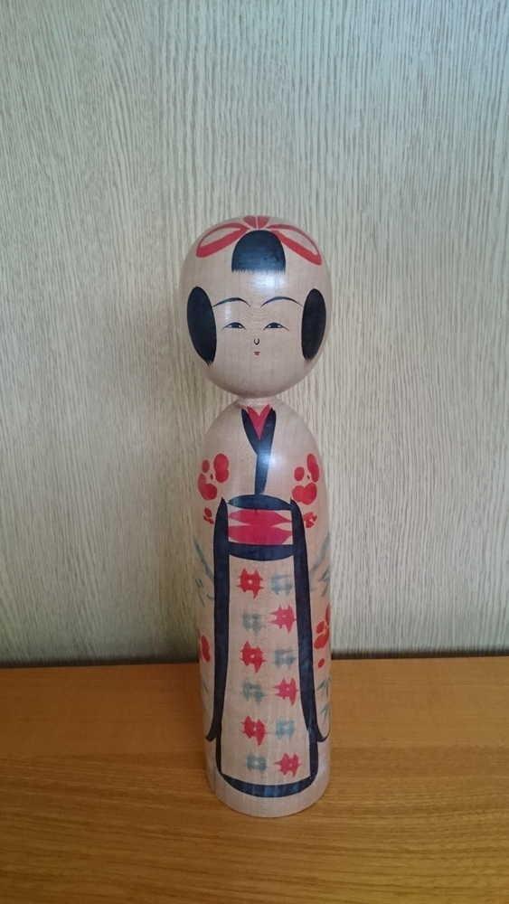 ◆伝統こけし 小野寺正徳3 24cm◆