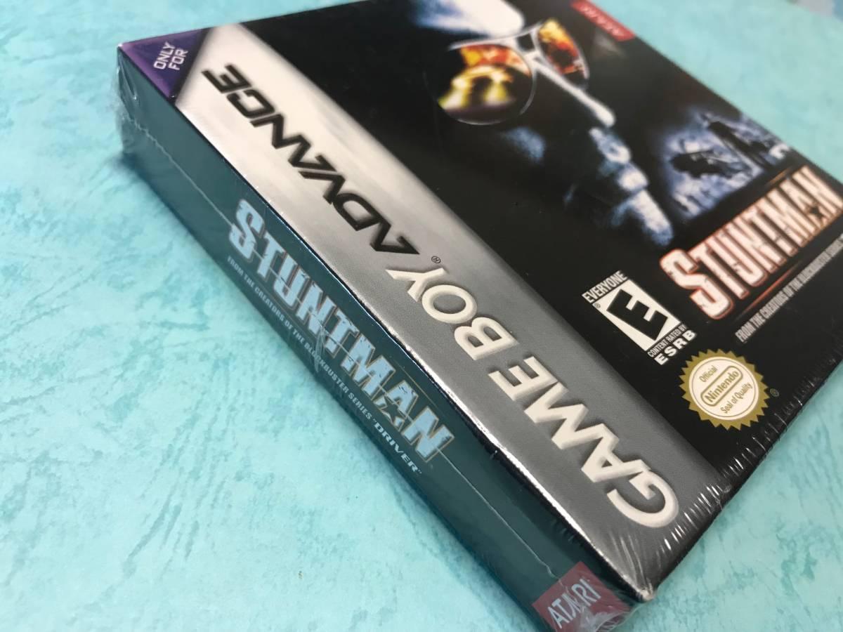 新品未開封 ● スタントマン Stuntman ● 海外版 GBA ニンテンドーDS 任天堂 ATARI アタリ 日本未発売 ※日本のGBA/DSでも遊べます♪_画像5