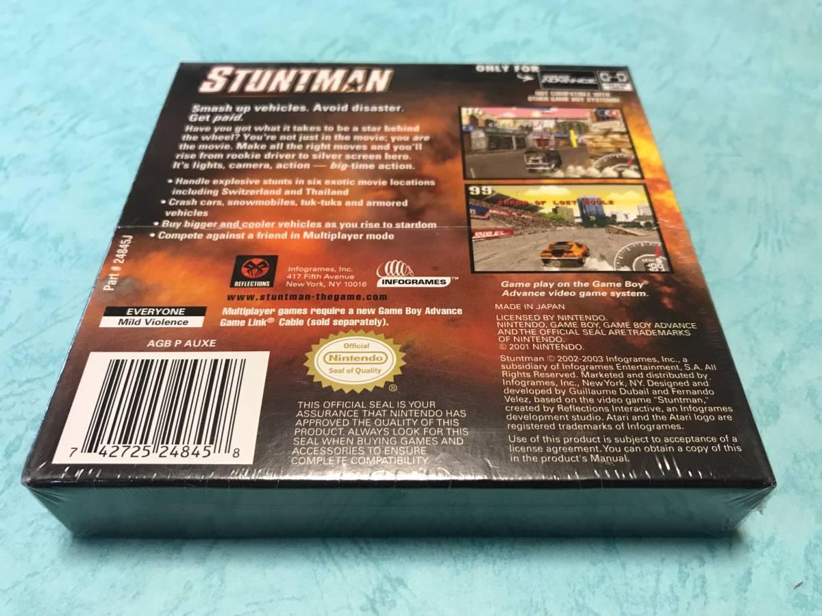 新品未開封 ● スタントマン Stuntman ● 海外版 GBA ニンテンドーDS 任天堂 ATARI アタリ 日本未発売 ※日本のGBA/DSでも遊べます♪_画像3