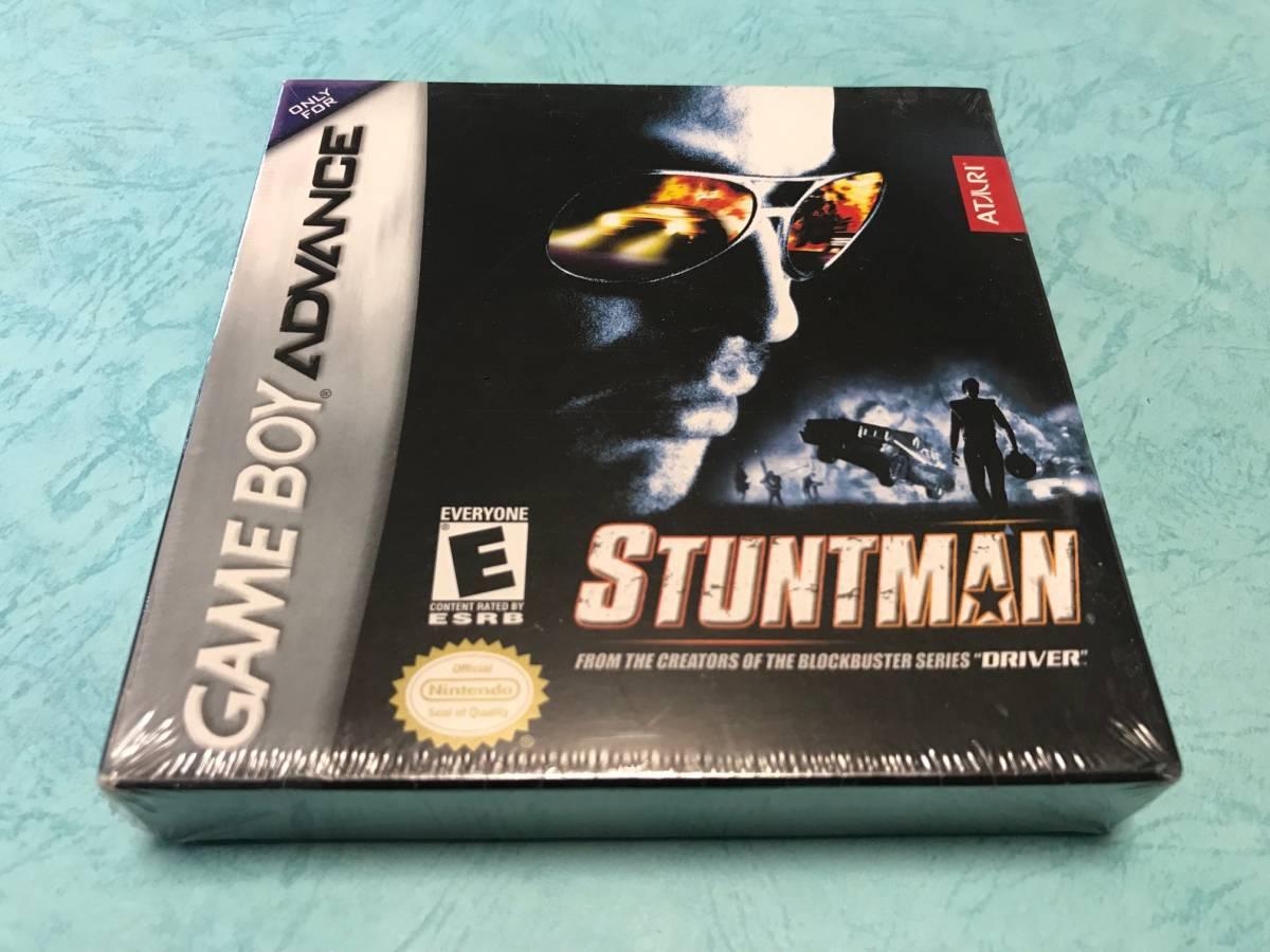 新品未開封 ● スタントマン Stuntman ● 海外版 GBA ニンテンドーDS 任天堂 ATARI アタリ 日本未発売 ※日本のGBA/DSでも遊べます♪_画像1