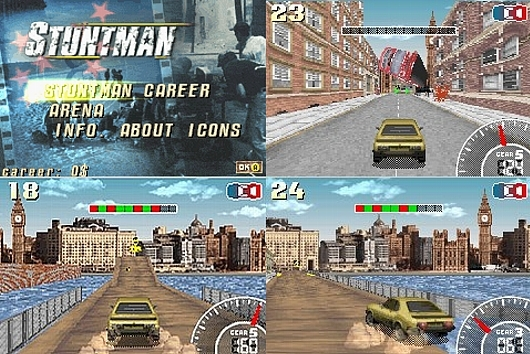 新品未開封 ● スタントマン Stuntman ● 海外版 GBA ニンテンドーDS 任天堂 ATARI アタリ 日本未発売 ※日本のGBA/DSでも遊べます♪_画像6