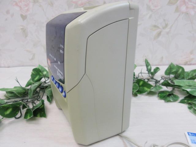 8モ883 マックス/MAX タイムレコーダ!ER-110S IV+タイムカード付き_画像6