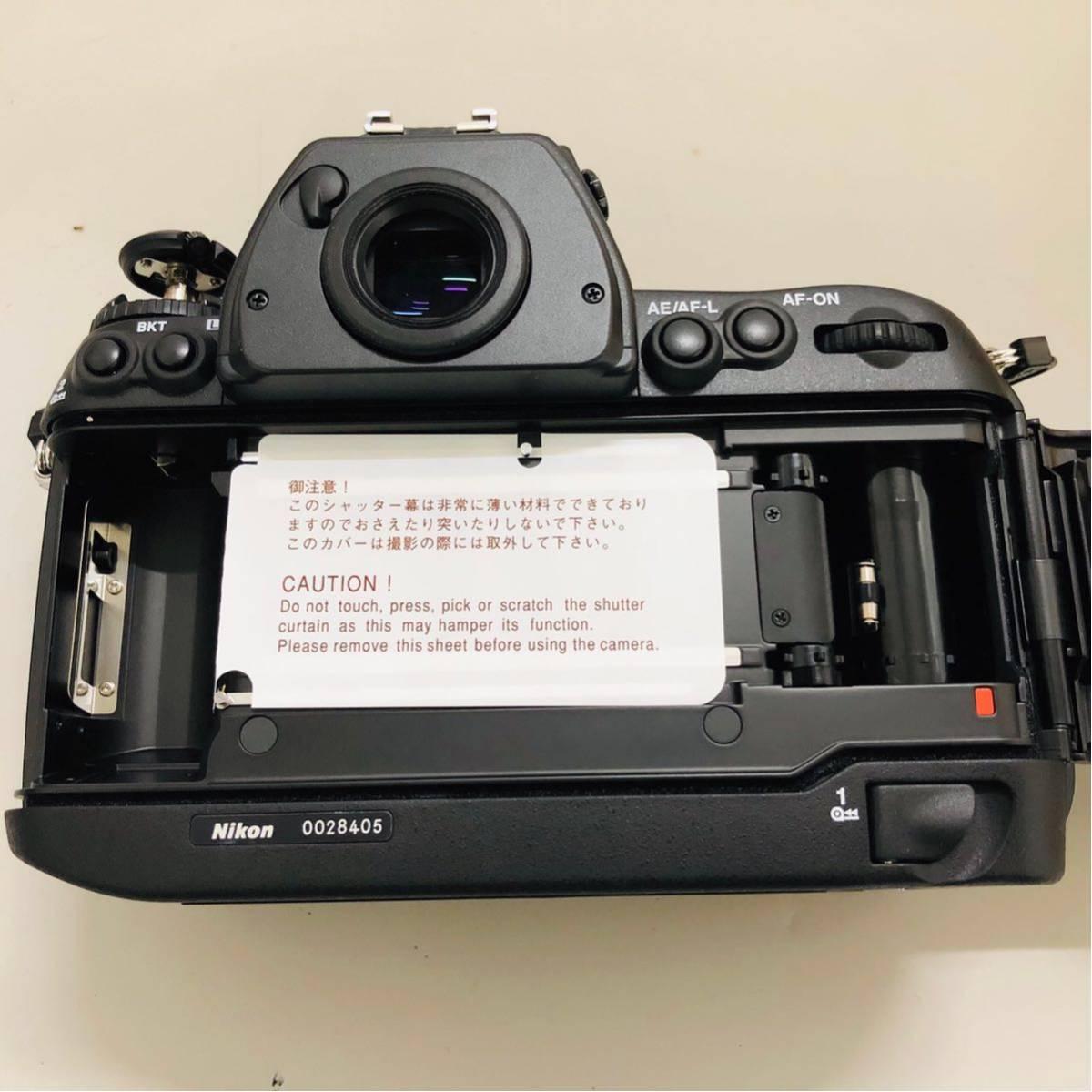【コレクター放出品】Nikon ニコン F6 ボディ 箱付き シリアル一致元箱 _画像3