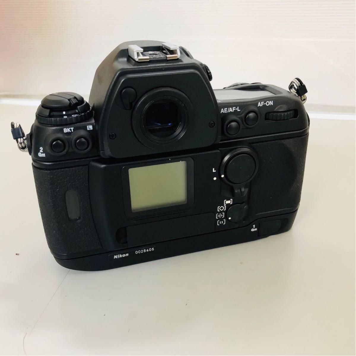 【コレクター放出品】Nikon ニコン F6 ボディ 箱付き シリアル一致元箱 _画像9