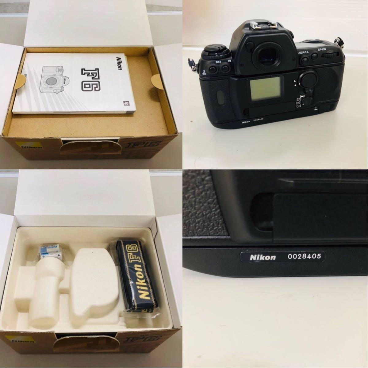 【コレクター放出品】Nikon ニコン F6 ボディ 箱付き シリアル一致元箱 _画像10