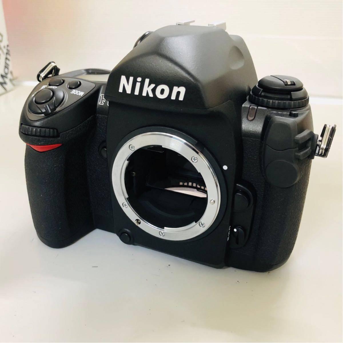 【コレクター放出品】Nikon ニコン F6 ボディ 箱付き シリアル一致元箱 _画像7