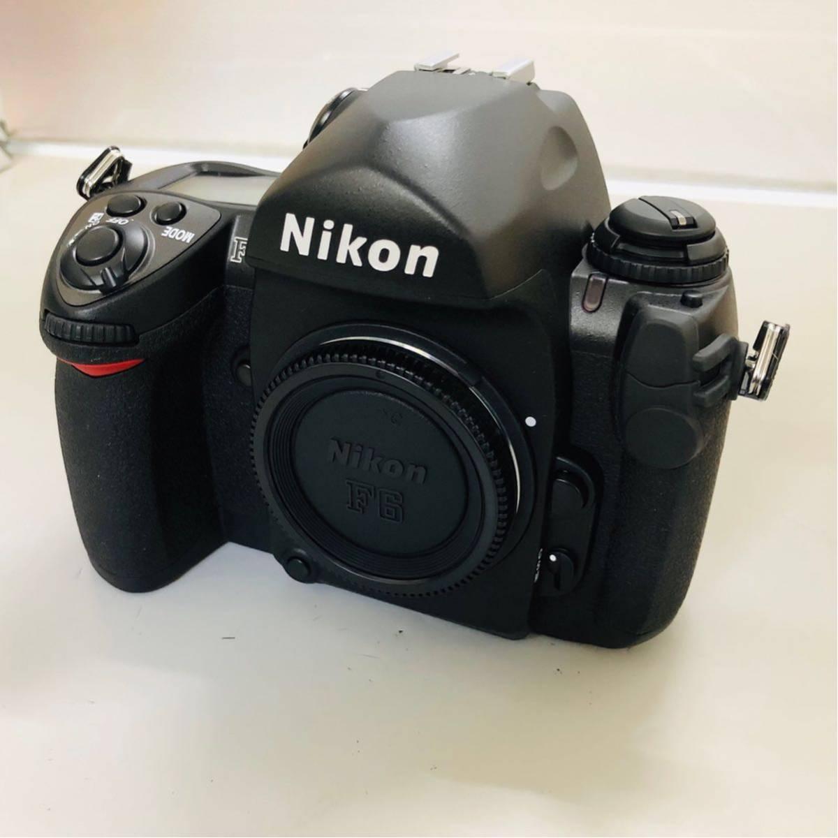 【コレクター放出品】Nikon ニコン F6 ボディ 箱付き シリアル一致元箱 _画像6