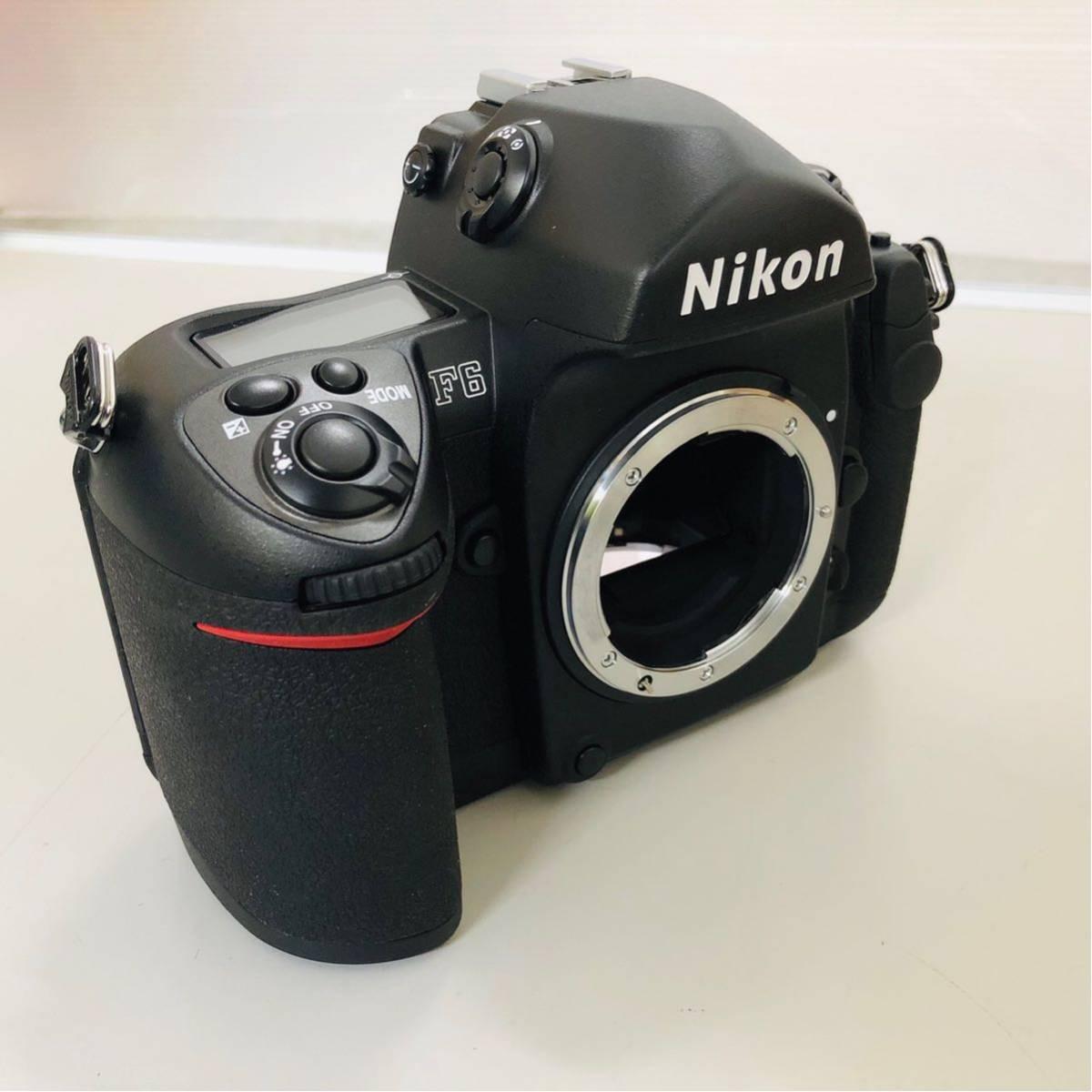 【コレクター放出品】Nikon ニコン F6 ボディ 箱付き シリアル一致元箱 _画像8