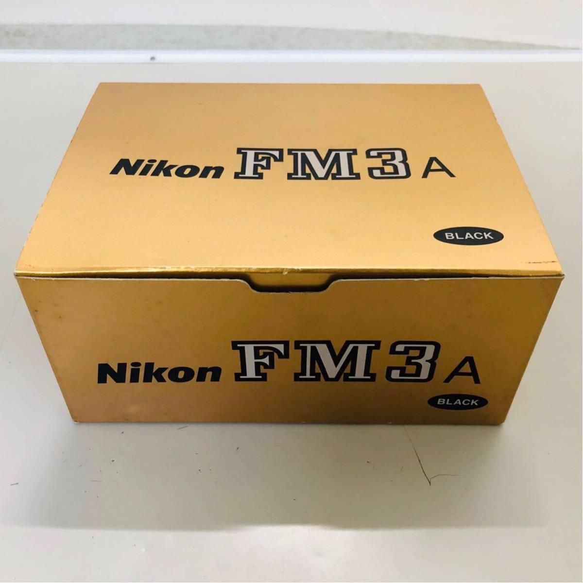 【極美品】Nikon ニコン FM3A