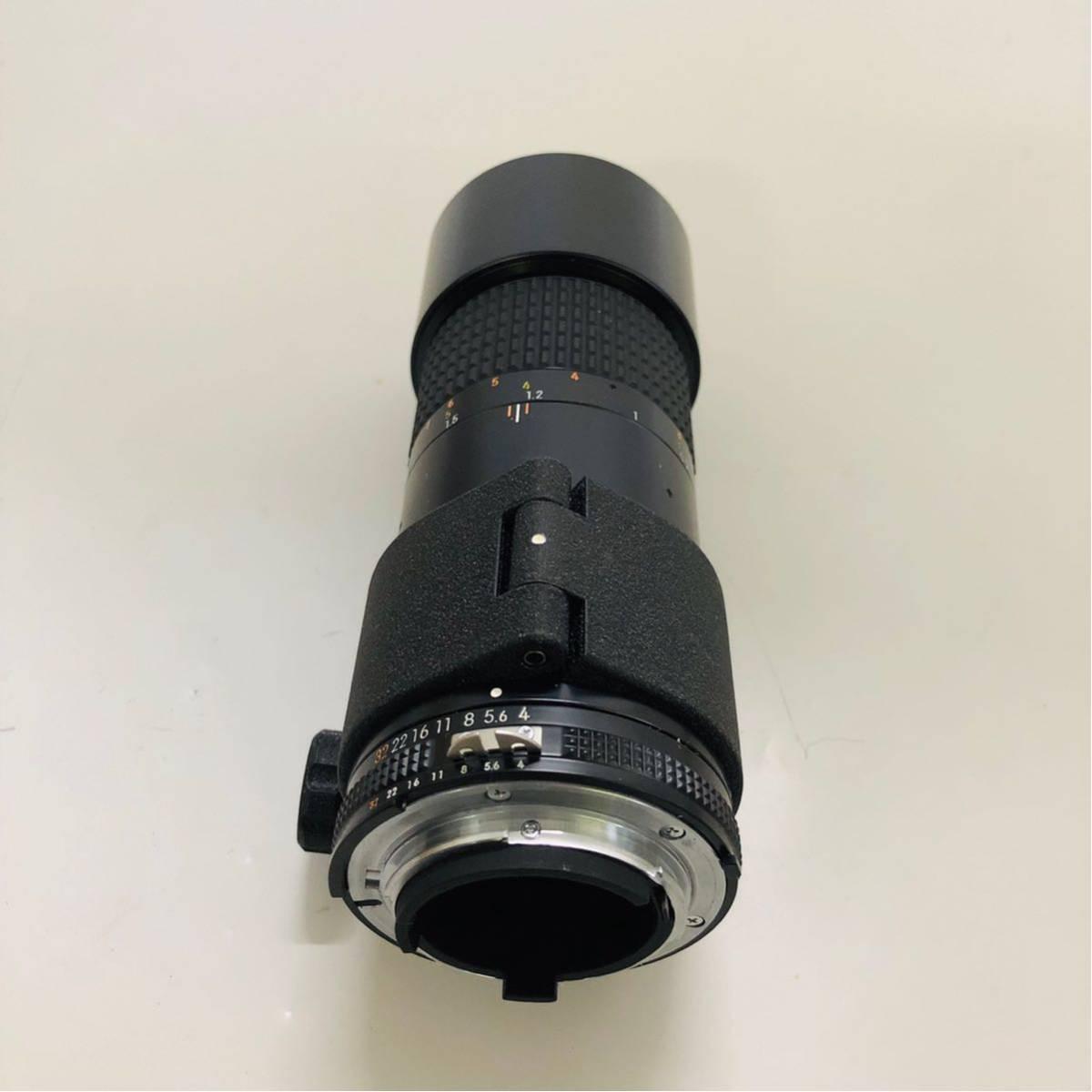 【美品】Nikon ニコン レンズ MICRO NIKKOR 200mm f/4_画像7