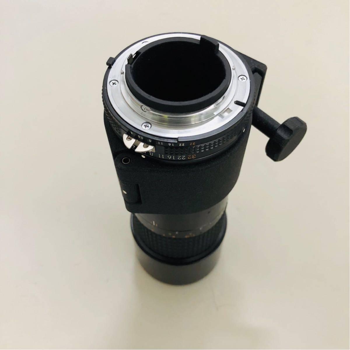 【美品】Nikon ニコン レンズ MICRO NIKKOR 200mm f/4_画像5