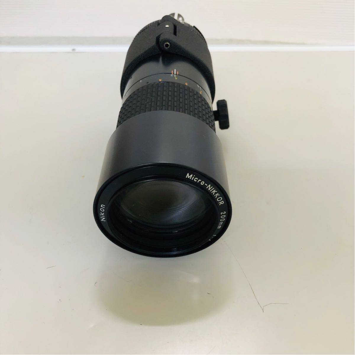 【美品】Nikon ニコン レンズ MICRO NIKKOR 200mm f/4_画像9