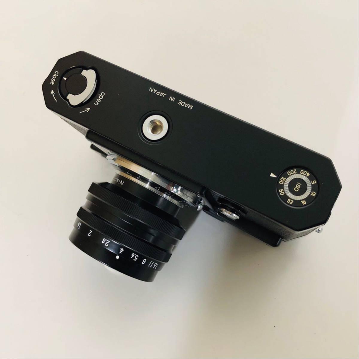 【未使用・美品】Nikon S3 LIMITED EDITION BLACK 50mm F1.4 302435_画像6