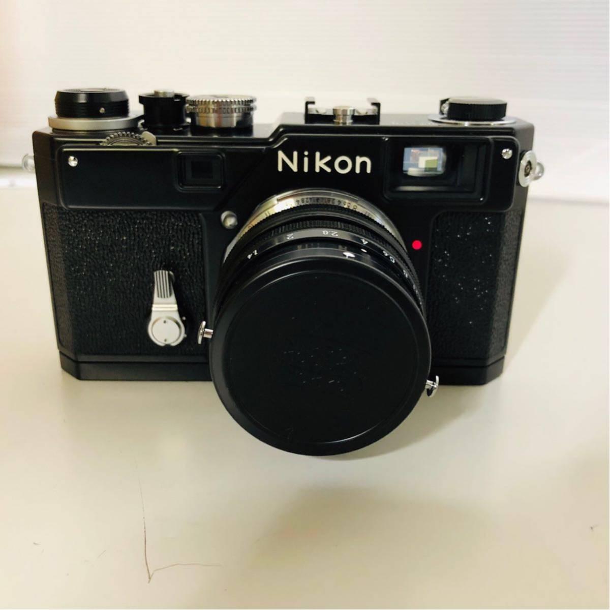【未使用・美品】Nikon S3 LIMITED EDITION BLACK 50mm F1.4 302435_画像4