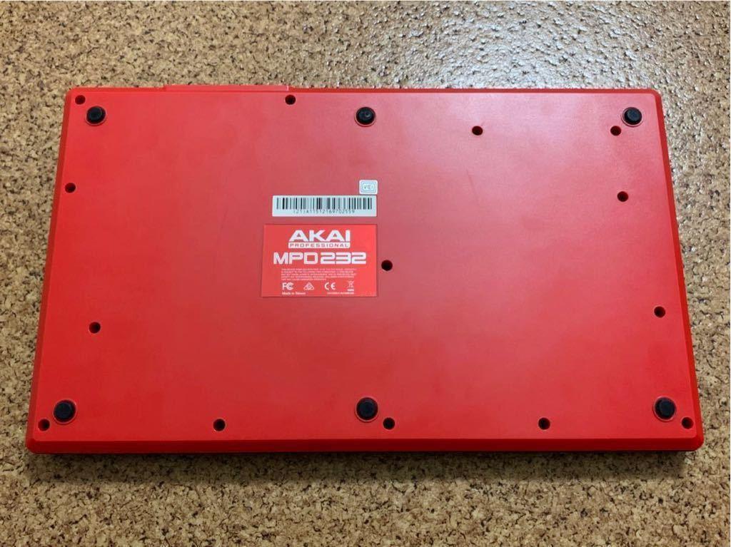 【中古】AKAI MPD232 MIDIコントローラー パッドコントローラー フェーダー シーケンサー(検:MPD218/MPD226/MPC)_画像4