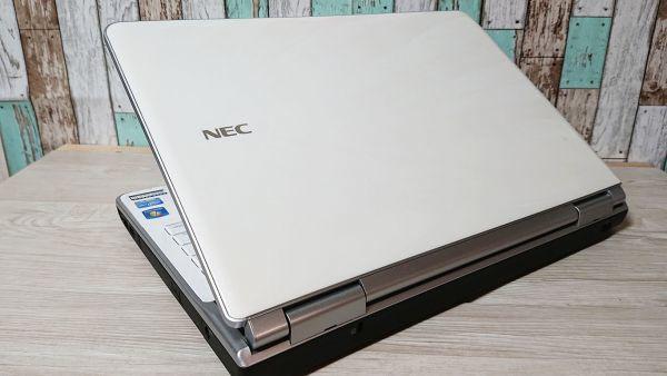 【爆速大容量SSD★人気クリスタルホワイト】Windows10☆NEC LL750/E☆最強 i7-2630QM☆新品SSD512GB /8GB/Blu-ray/USB3.0/YAMAHAサウンド☆_画像3