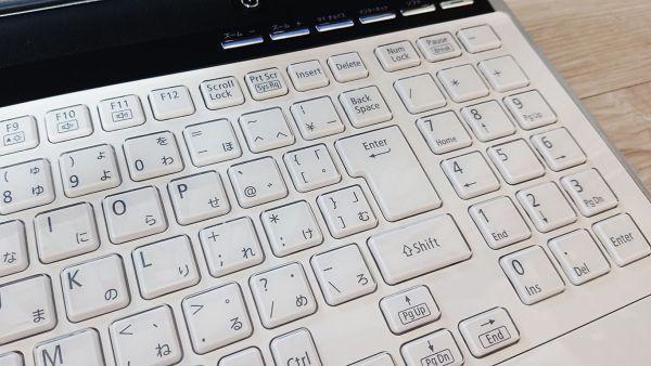 【爆速大容量SSD★人気クリスタルホワイト】Windows10☆NEC LL750/E☆最強 i7-2630QM☆新品SSD512GB /8GB/Blu-ray/USB3.0/YAMAHAサウンド☆_画像6