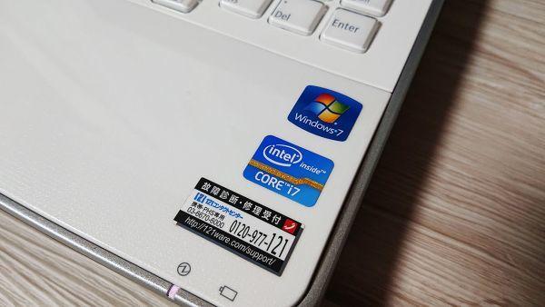 【爆速大容量SSD★人気クリスタルホワイト】Windows10☆NEC LL750/E☆最強 i7-2630QM☆新品SSD512GB /8GB/Blu-ray/USB3.0/YAMAHAサウンド☆_画像4