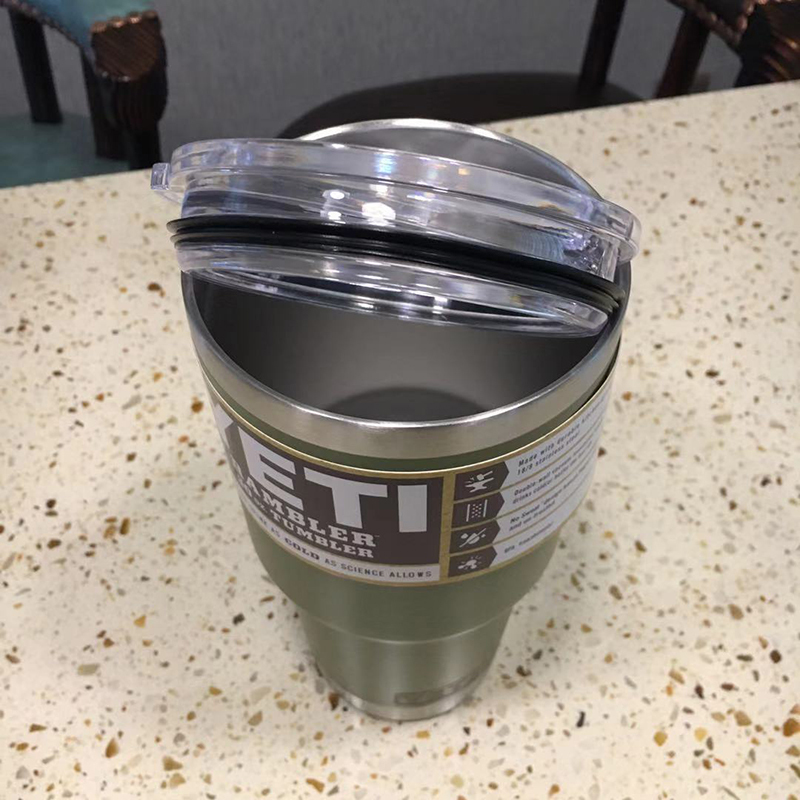 3個組YETI 1個18oz & 2個30oz green真空断熱 保温/冷 タンブラー★イエティ RAMBLER Bottle Tumbler ミリタリー水筒304食用ステンレス_画像4