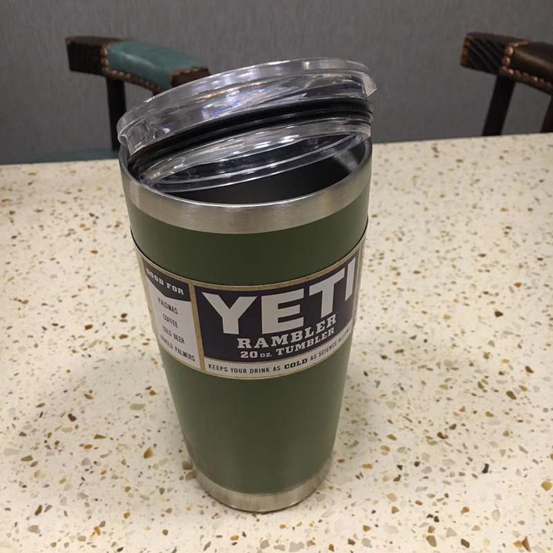 3個組YETI 1個18oz & 2個20oz green真空断熱 保温/冷 タンブラー★イエティ RAMBLER Bottle Tumbler ミリタリー水筒304食用ステンレス_画像4