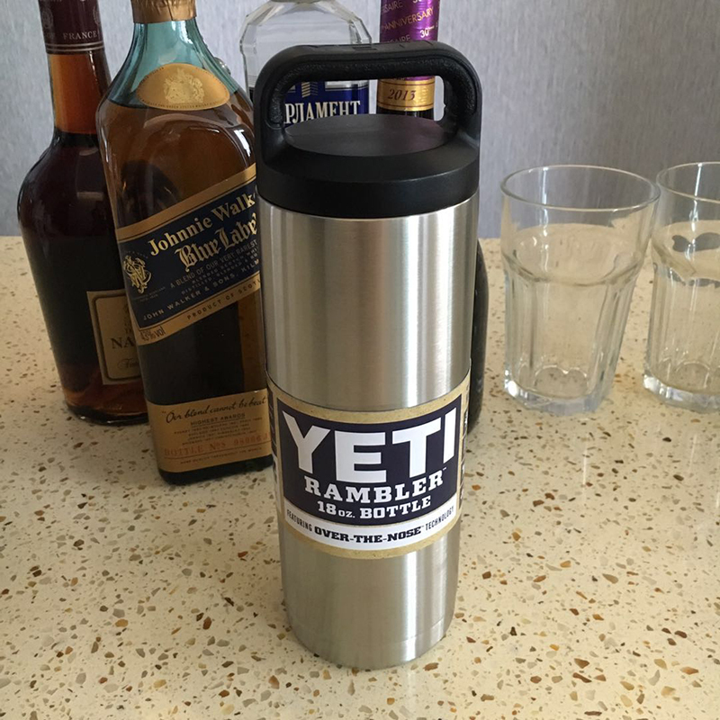3個組 YETI 1個18oz & 2個20oz 真空断熱 保温/冷 タンブラー★イエティ RAMBLER Bottle Tumbler ミリタリー 水筒 304食用ステンレス_画像2