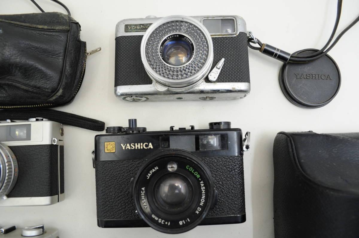 【ecoま】コンパクトフィルムカメラ 12台まとめて olympus pen/DC/TRIP35/konica/yashica35 cc_画像6