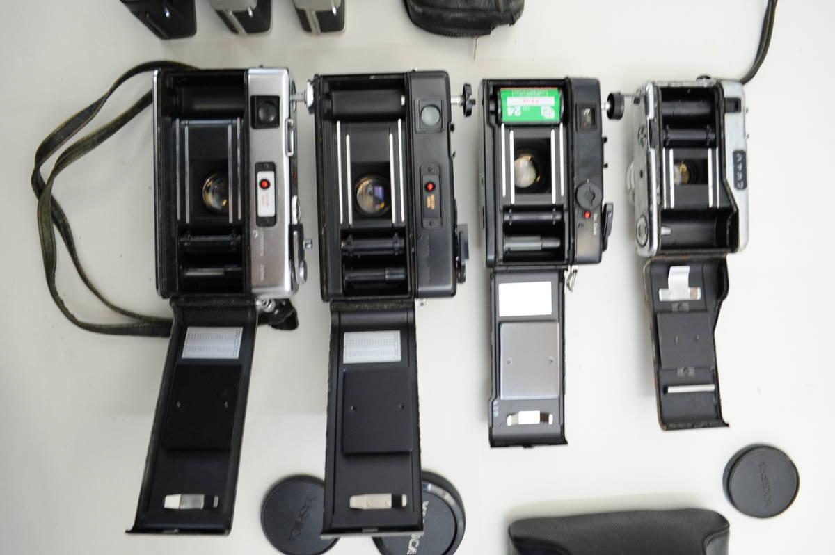 【ecoま】コンパクトフィルムカメラ 12台まとめて olympus pen/DC/TRIP35/konica/yashica35 cc_画像9