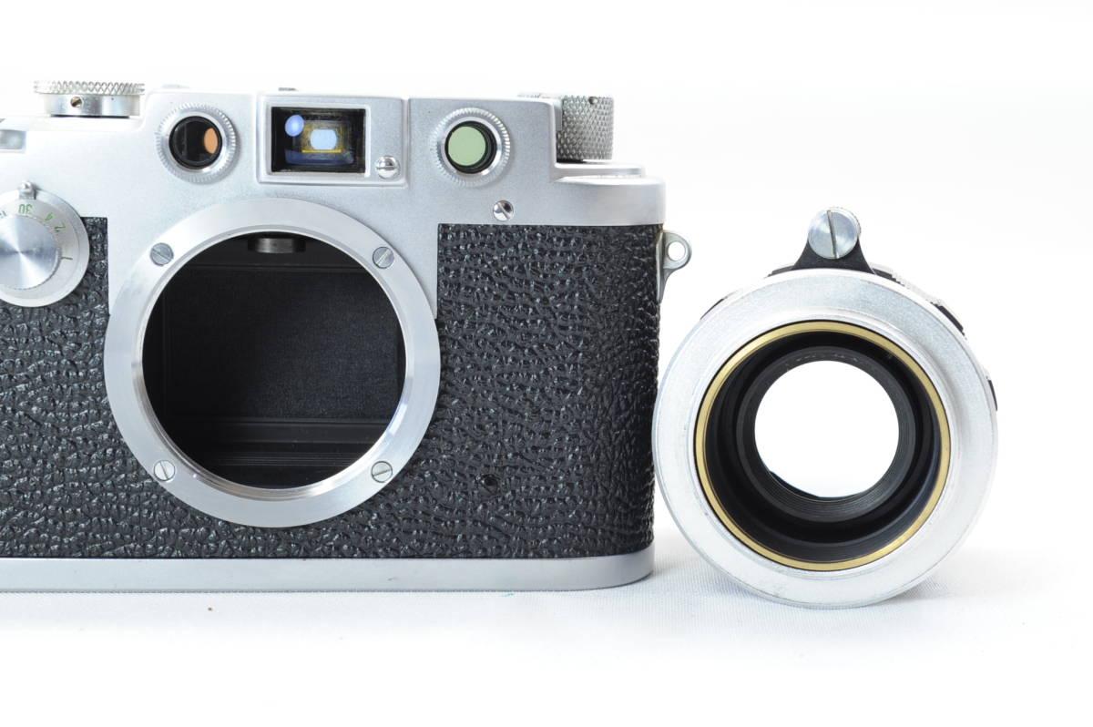 【ecoま】レオタックス Leotax LEONON 5cm F2レンズ付き レンジファインダーカメラ_画像7