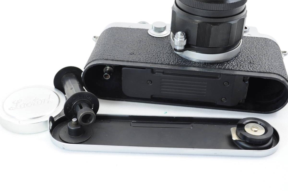 【ecoま】レオタックス Leotax LEONON 5cm F2レンズ付き レンジファインダーカメラ_画像10