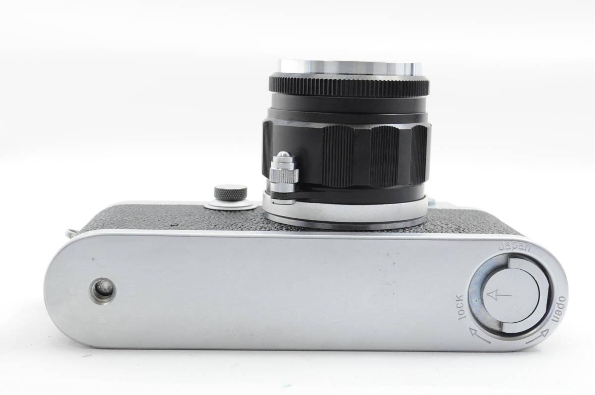 【ecoま】レオタックス Leotax LEONON 5cm F2レンズ付き レンジファインダーカメラ_画像6