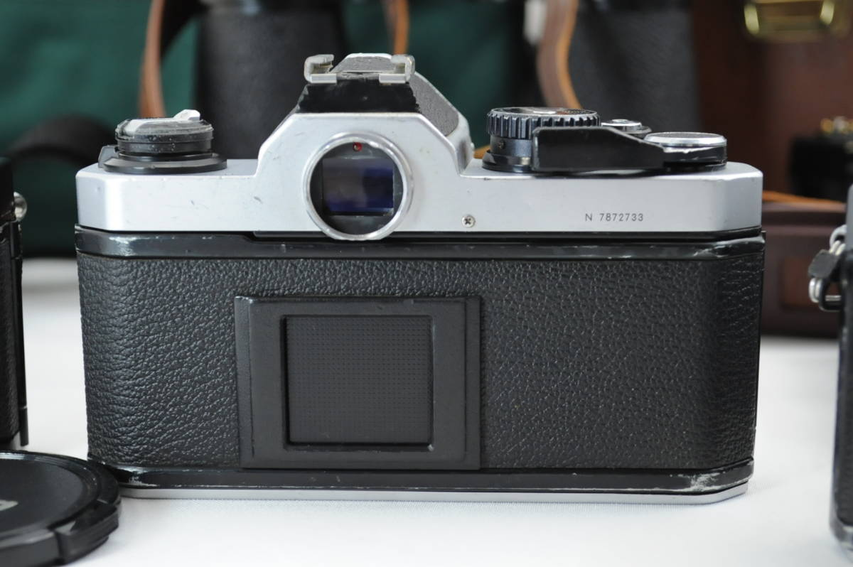 【ecoま】ニコン NIKON NEW FM2/FE レンズセット まとめて3台セット 一眼レフフィルムカメラ_画像6