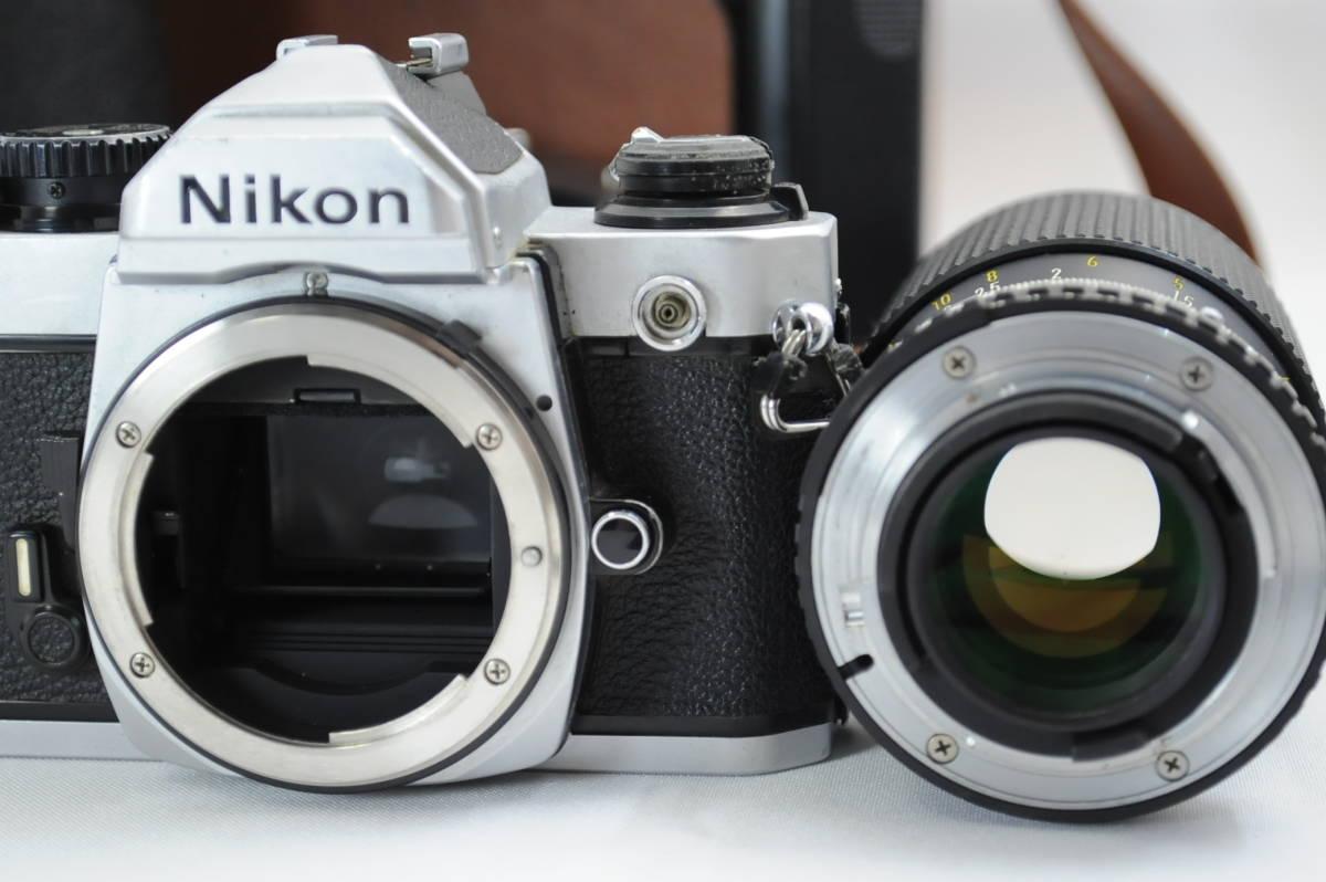 【ecoま】ニコン NIKON NEW FM2/FE レンズセット まとめて3台セット 一眼レフフィルムカメラ_画像8