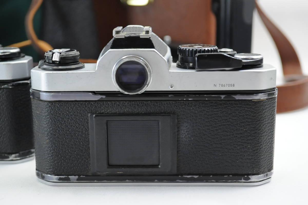 【ecoま】ニコン NIKON NEW FM2/FE レンズセット まとめて3台セット 一眼レフフィルムカメラ_画像5