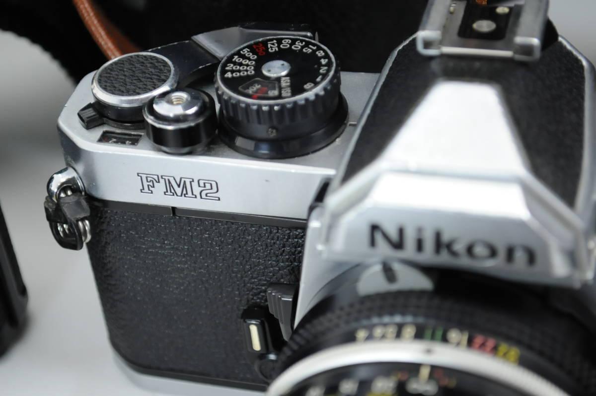 【ecoま】ニコン NIKON NEW FM2/FE レンズセット まとめて3台セット 一眼レフフィルムカメラ_画像3