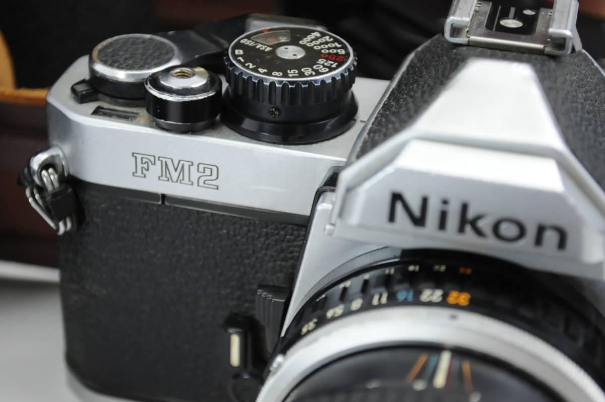 【ecoま】ニコン NIKON NEW FM2/FE レンズセット まとめて3台セット 一眼レフフィルムカメラ_画像2