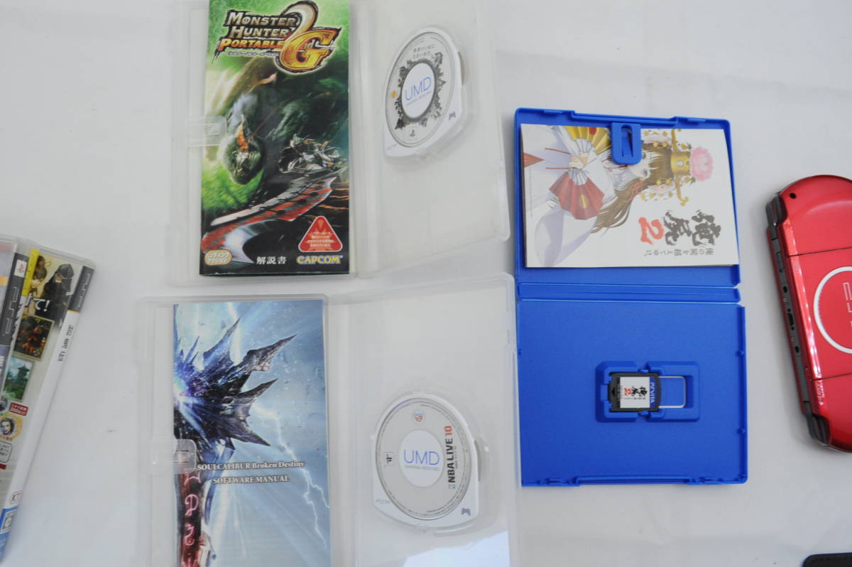 【ecoま】SONY ソニー PSP-3000 レッド プレーステーションポータブル_画像7