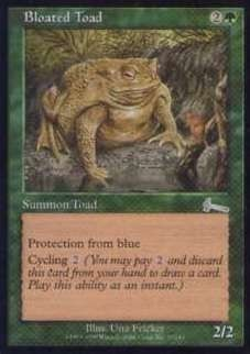 027082-002 UL/ULG ふくれたヒキガエル/Bloated Toad 英1枚_画像1